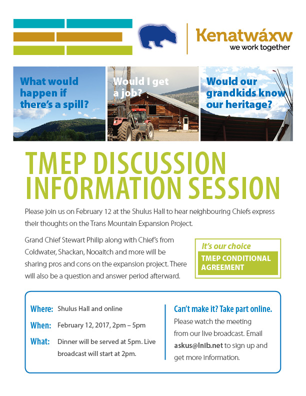 TMEP Discussion & Info Session